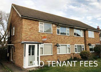 Thumbnail 2 bedroom maisonette to rent in Vernon Close, West Ewell, Epsom