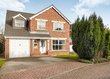 Thumbnail 5 bed detached house for sale in Tranby Park Meadows, Hessle