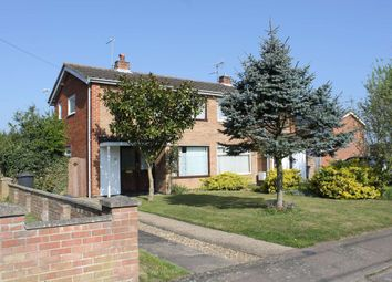Thumbnail 2 bed semi-detached house for sale in Bonsey Gardens, Wrentham, Beccles