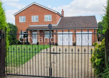 Thumbnail 5 bed detached house for sale in Lambert Bank, Gedney Hill, Spalding