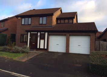 Thumbnail 4 bed detached house to rent in Emily Davison Avenue, Morpeth
