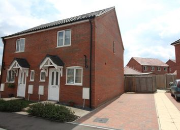 Thumbnail 2 bedroom semi-detached house for sale in Maurecourt Drive, Brundall, Norwich