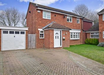 Thumbnail 4 bed detached house for sale in Kipling Drive, Larkfield, Aylesford, Kent