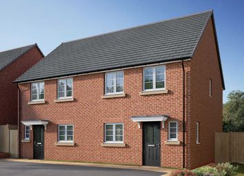 """Thumbnail 3 bed semi-detached house for sale in """"The Eveleigh"""" at Coventry Road, Cawston, Rugby"""