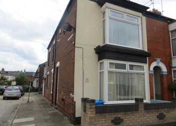 Thumbnail 2 bed end terrace house to rent in Perth Street, Hull