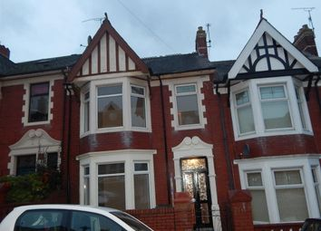 Thumbnail 3 bed terraced house to rent in Somerset Road, Newport