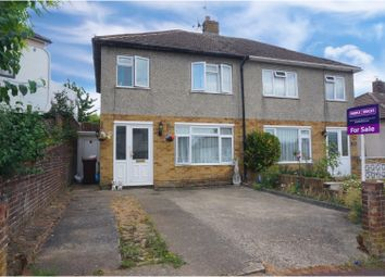 Thumbnail 3 bed semi-detached house for sale in Bankside, Chatham