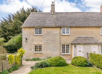 Thumbnail 2 bed end terrace house for sale in Bibury Road, Coln St. Aldwyns, Cirencester, Gloucestershire