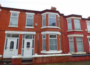 Thumbnail 3 bed terraced house for sale in Rosedale Road, Birkenhead