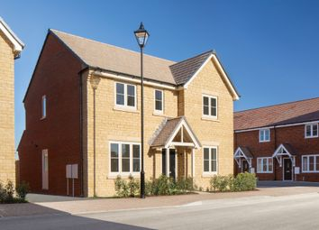 "Thumbnail 4 bed detached house for sale in ""The Berrington"" At Witney Road, Kingston Bagpuize OX13, Kingston Bagpuize,"