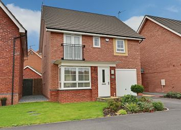 Thumbnail 4 bedroom detached house for sale in Brompton Park, Kingswood, Hull