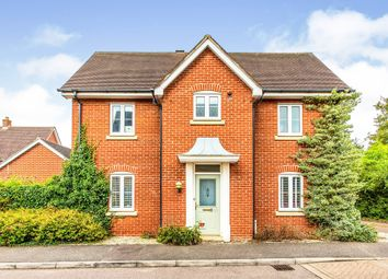 Thumbnail 3 bed detached house for sale in Clare Drive, Highfields Caldecote, Cambridge