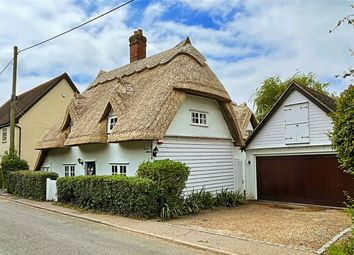 Thumbnail 4 bed cottage for sale in Church Lane, White Roding, Dunmow, Essex