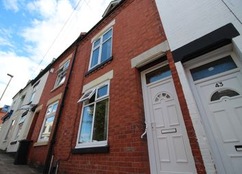 Thumbnail 1 bedroom town house to rent in Hartington Road, Mere Road, Highfields, Leicester