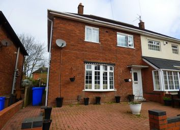 Thumbnail 3 bed semi-detached house for sale in Tyson Green, Bentilee, Stoke-On-Trent