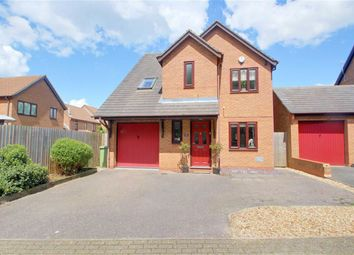 Thumbnail 4 bed detached house for sale in Bickleigh Crescent, Furzton, Milton Keynes