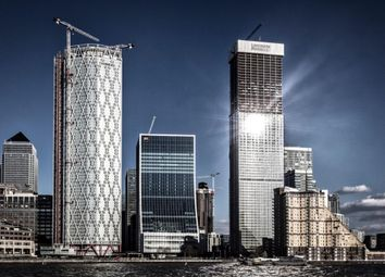 Thumbnail 1 bed flat for sale in Landmark Tower, Marsh Wall, Canary Wharf, London
