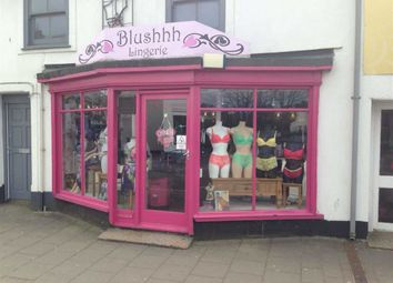 Thumbnail Retail premises for sale in Blushhh, 49, Fore Street, Hayle, Cornwall