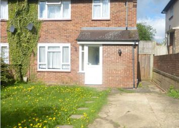 Thumbnail 3 bed semi-detached house for sale in Coates Road, Elstree, Borehamwood