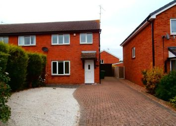 Thumbnail 3 bed semi-detached house to rent in Brushfield Road, Chesterfield