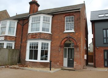 Thumbnail 2 bed maisonette to rent in Fornham Road, Bury St. Edmunds