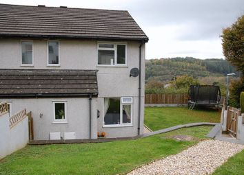 Thumbnail 3 bed end terrace house for sale in Castle View, Lostwithiel