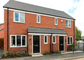 "Thumbnail 3 bed terraced house for sale in ""The Hanbury"" at Brookside, East Leake, Loughborough"