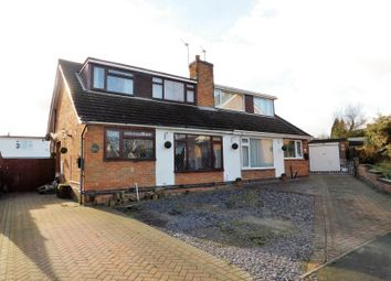 Thumbnail 3 bed semi-detached house for sale in Paterson Place, Shepshed, Loughborough