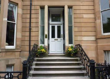 Thumbnail 1 bedroom flat to rent in Lynedoch Place, Glasgow