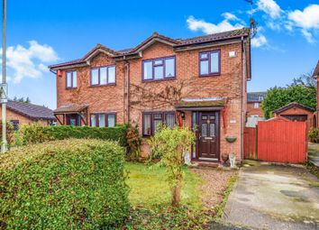 Thumbnail 3 bed semi-detached house for sale in Grantley Close, Ashford