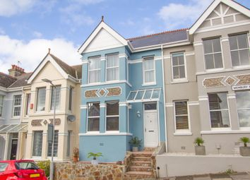 Thumbnail 3 bed terraced house for sale in Wembury Park Road, Peverell, Plymouth