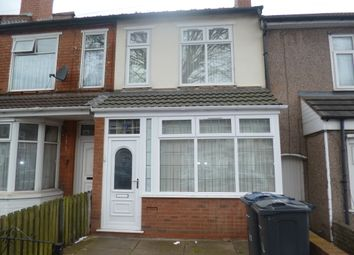Thumbnail 3 bedroom terraced house for sale in St. Benedicts Road, Small Heath, Birmingham