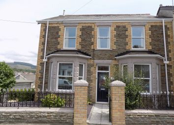 Thumbnail 4 bed detached house for sale in Llwydarth Road, Maesteg, Bridgend.