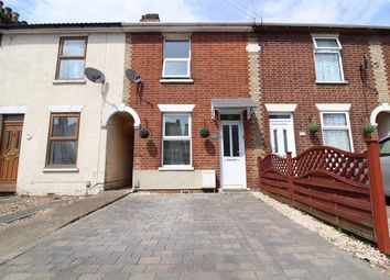 Thumbnail 2 bed terraced house for sale in Felixstowe Road, Ipswich