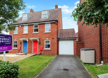 Thumbnail 3 bed semi-detached house for sale in Bulford Close, Gloucester
