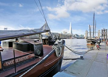Thumbnail 3 bed houseboat for sale in Hermitage Moorings, Wapping High Street, London