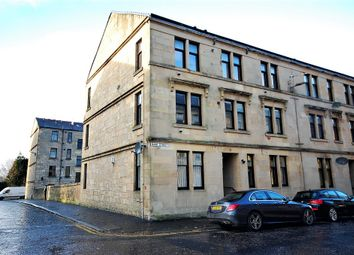 Thumbnail 1 bed flat for sale in Bank Street, Paisley