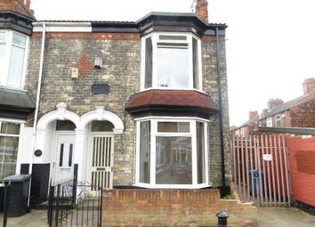 Thumbnail 2 bed end terrace house for sale in Newstead Street, Hull