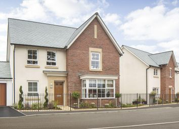 "Thumbnail 4 bed detached house for sale in ""Cambridge"" at Hill Top, Fremington, Barnstaple"