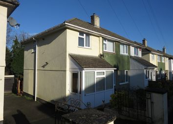 Thumbnail 3 bedroom semi-detached house for sale in Dudley Road, Plympton, Plymouth