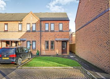 Thumbnail 2 bedroom end terrace house for sale in Etruria Gardens, Chester Green, Derby