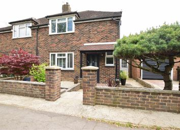 Thumbnail 3 bed semi-detached house for sale in Park View, Horley, Surrey