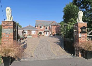 Thumbnail 4 bedroom detached house for sale in Hexton Lodge, Hexton Hill, Hooe, Plymouth, Devon