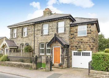 Thumbnail 3 bed semi-detached house for sale in Church Row, Beckwithshaw, Harrogate