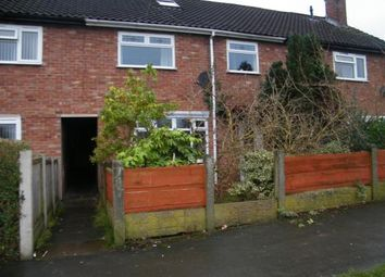 Thumbnail 3 bed terraced house for sale in Meadow Grove, Northwich, Cheshire