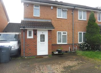 Thumbnail 3 bed property to rent in Larchfield Close, Handsworth Wood, Birmingham