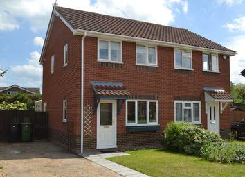 Thumbnail 2 bedroom semi-detached house to rent in Bridge Close, Redenhall, Harleston