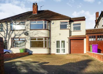 Thumbnail 5 bed semi-detached house for sale in Himley Crescent, Goldthorn Hill, Wolverhampton