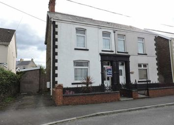 Thumbnail 3 bed semi-detached house for sale in Caecerrig Road, Pontarddulais, Swansea