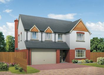 Thumbnail 5 bed detached house for sale in Quarry Field, Lugwardine, Herefordshire